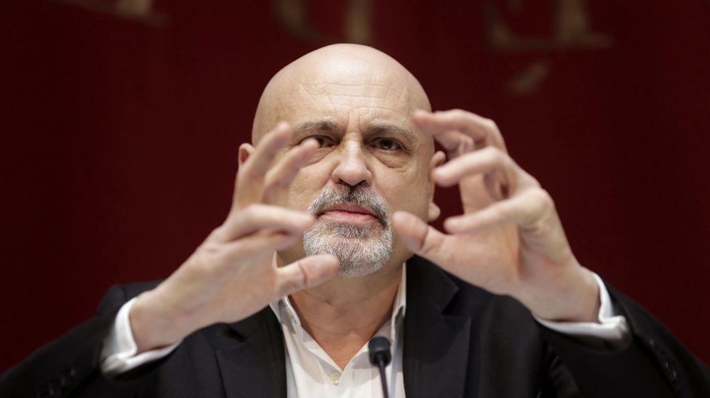 Foto: Juan Carlos Pérez de la Fuente en una rueda de prensa el pasado mes de marzo (Efe)