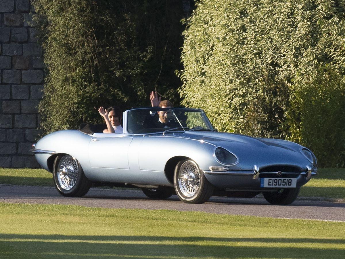 Foto: Los duques de Sussex, el día de su boda. (EFE)