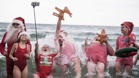 Papá Noel se va de vacaciones... ¡para preparar la próxima Navidad!