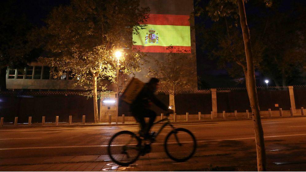 Foto: Fachada de la embajada de EEUU en Madrid. (EFE)