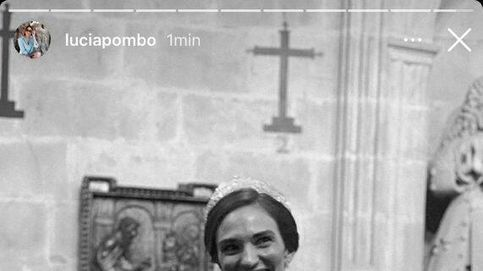 Con tiara y un diseño original: el vestido de novia de la nuera de Cristina Yanes