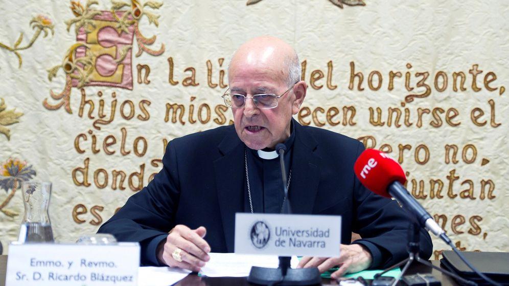 Foto: El presidente de la Conferencia Episcopal Española, Ricardo Blázquez. (EFE)