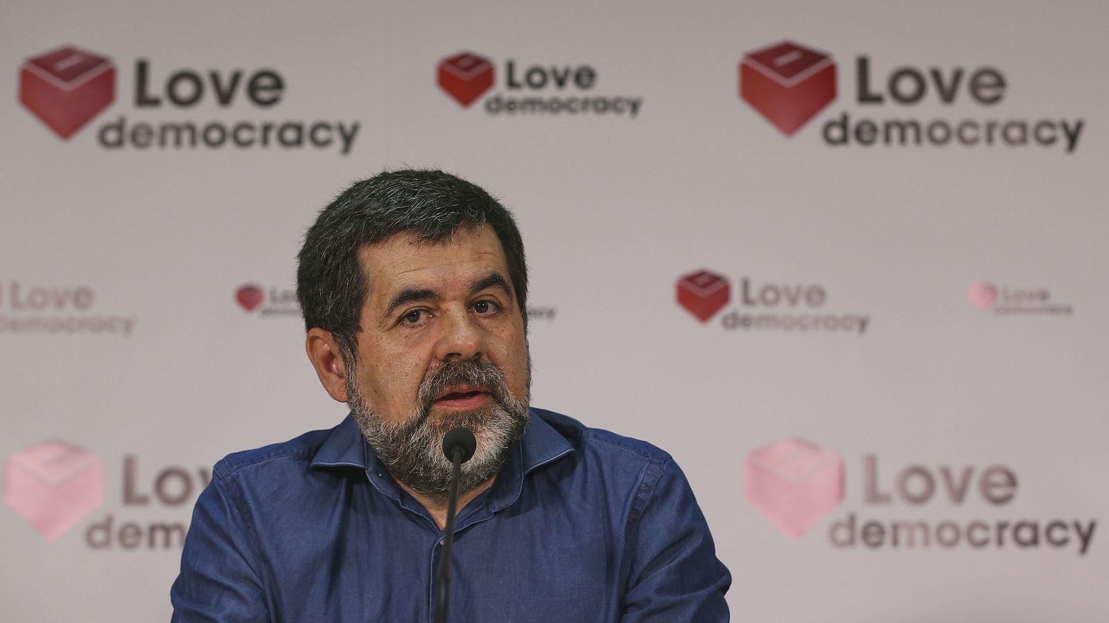Foto: El expresidente de la Asamblea Nacional Catalana (ANC), Jordi Sànchez. (EFE)