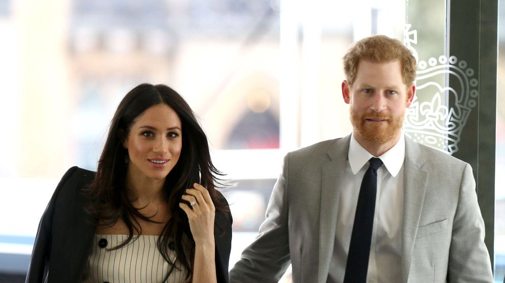 Foto: El príncipe Harry junto a Meghan Markle. (Gtres)