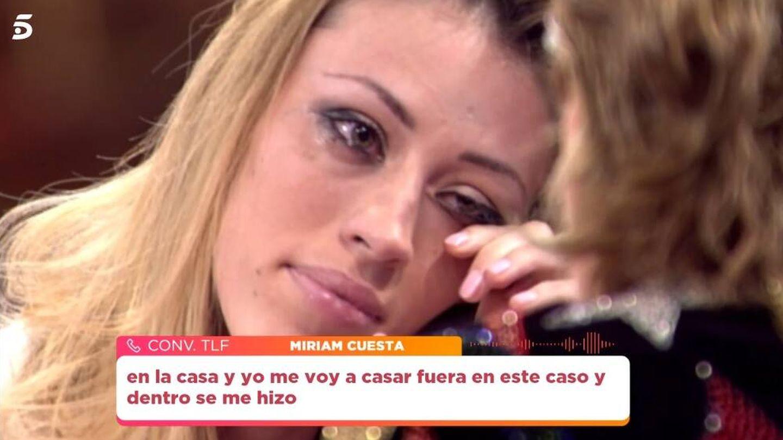 Miriam, en 'Viva la vida'. (Telecinco).