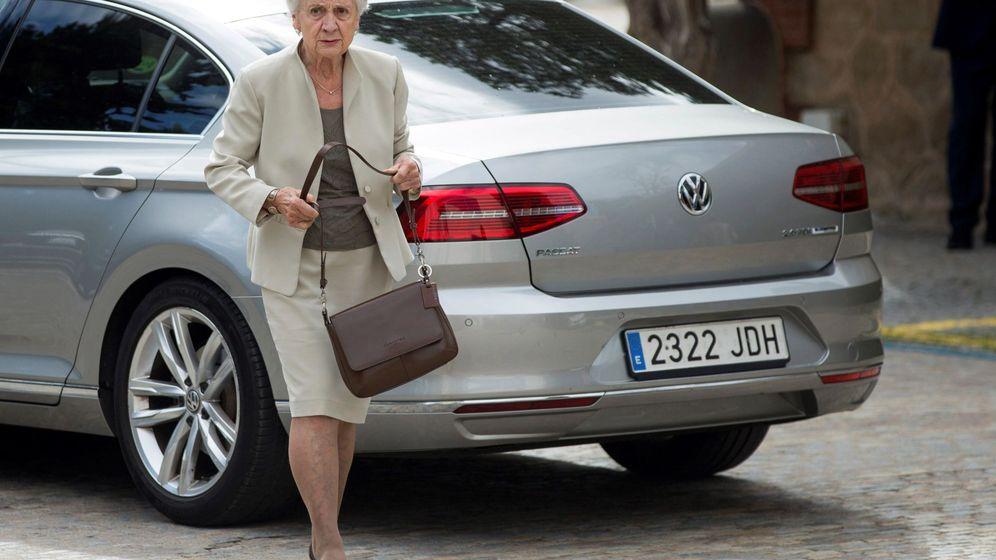 Foto: La mujer del expresidente de la Generalitat Jordi Pujol, Marta Ferrusola. (EFE)