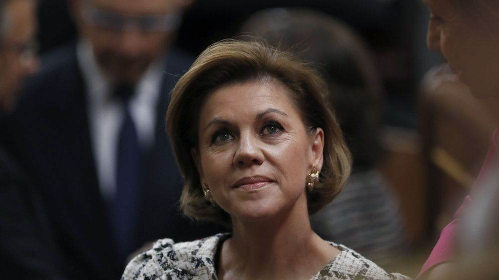 Foto:  La ministra de Defensa, María Dolores de Cospedal. (EFE)