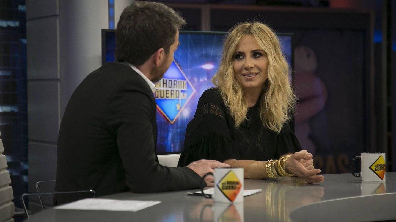 Marta Sánchez respondiendo a Jordi Évole en 'El hormiguero'. (Antena 3)