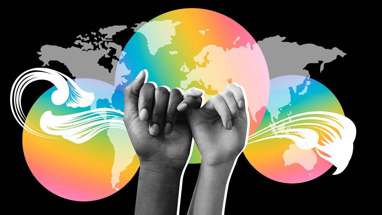 Foto: Mapa del mundo LGTBIQ+. (Imagen: Vanitatis)