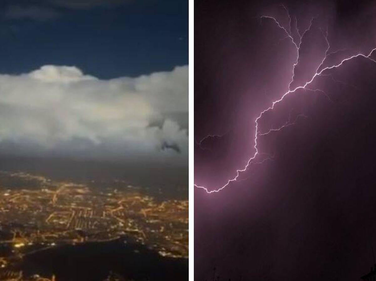 Foto: Varias imágenes de la tormenta desatada este 1 de septiembre