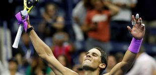 Post de Rafa Nadal pasa a semifinales del US Open pese a la firme oposición de Schwartzman