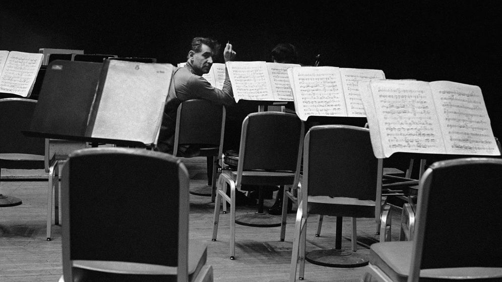 Foto: Leonard Bernstein, el gran director