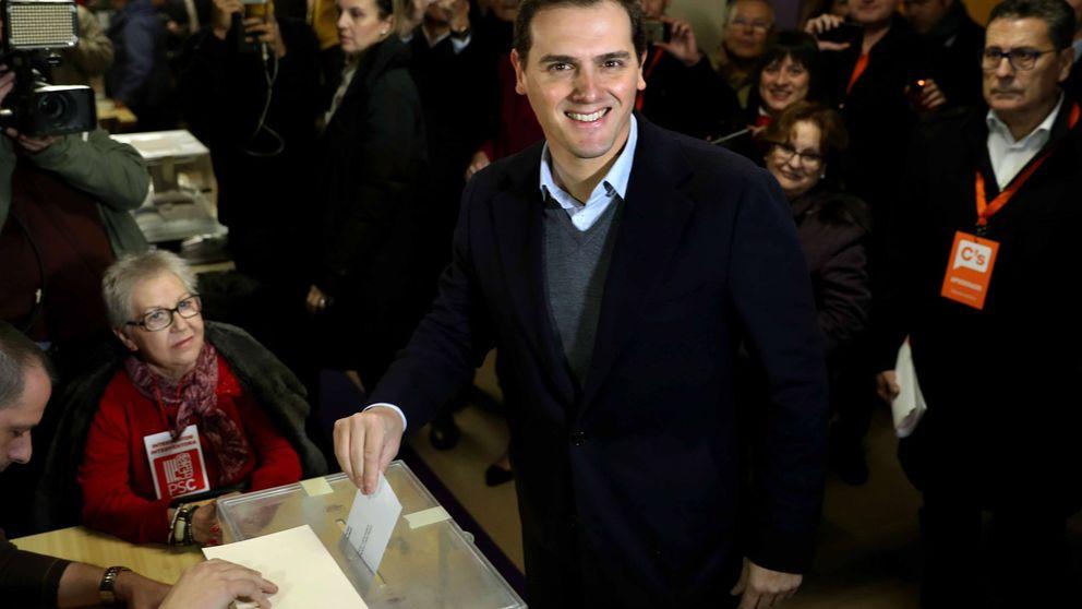 Albert Rivera espera la doble victoria de Cs y del bloque constitucionalista