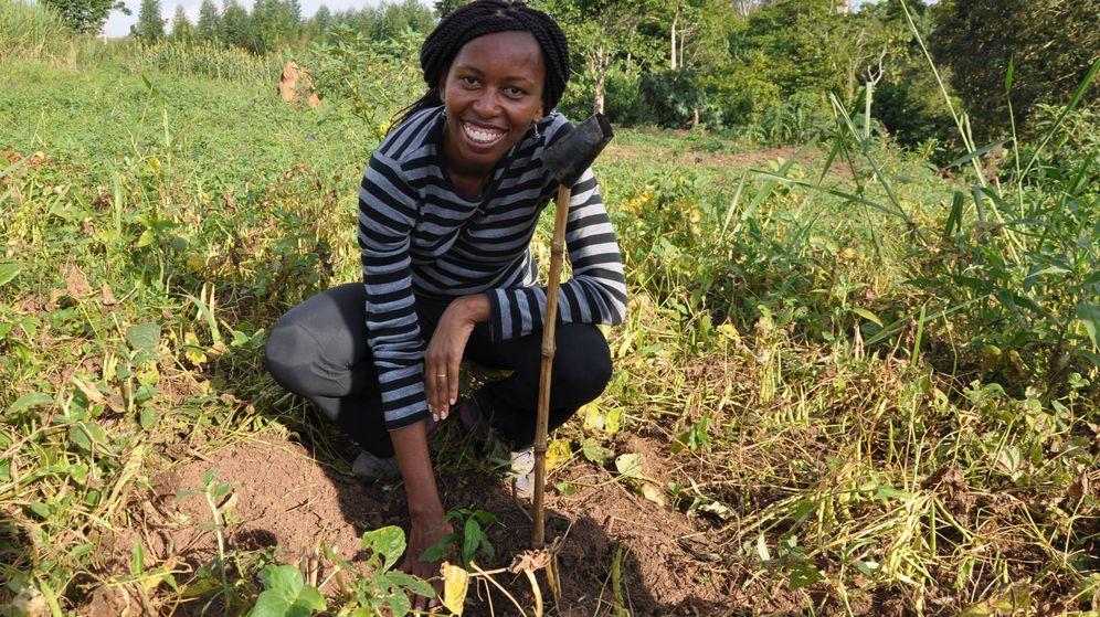 Foto: Alice Macharia, del Instituto Jane Goodall, en Uganda. (Cedida)