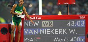 Post de Wayde van Niekerk, la estrella de 2016 en medio del ruido mediático de Bolt