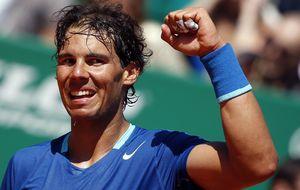 Nadal consigue su victoria número 300 sobre arcilla y ya está en cuartos en Mónaco