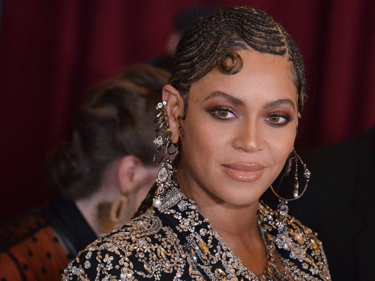 Foto: Beyoncé, en la première de 'El Rey León'. (Cordon Press)