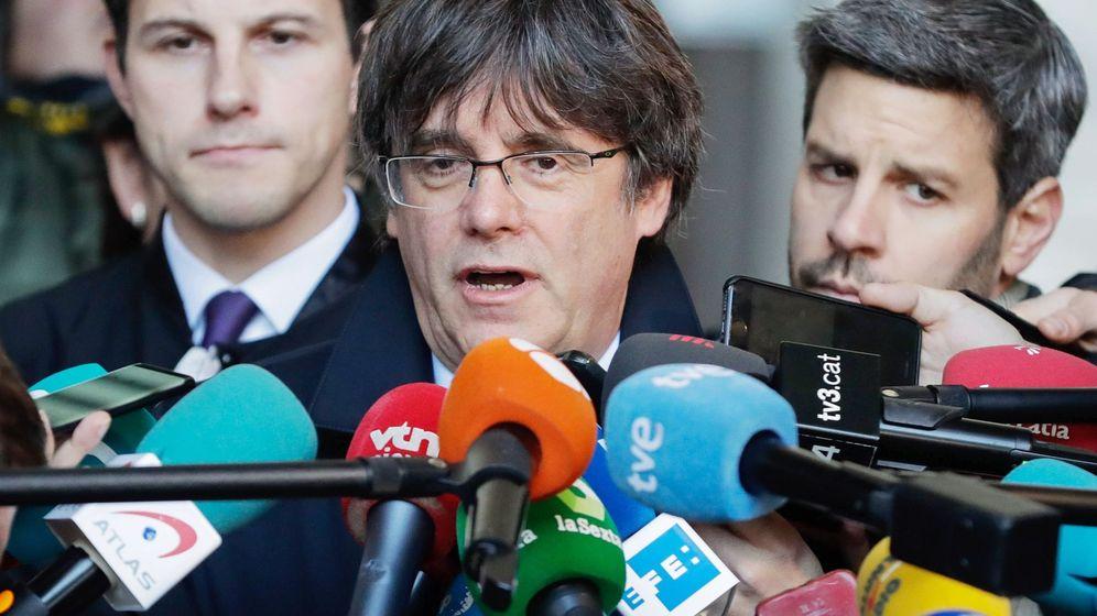 Foto: El expresidente de la Generalitat de Cataluña Carles Puigdemont. (EFE)