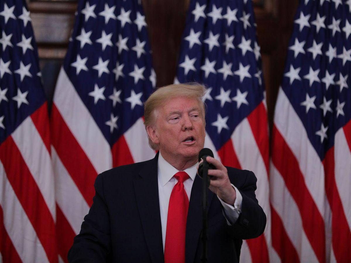 Foto: El presidente de EEUU, Donlad Trump. (Reuters)