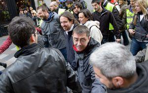 La 'marcha del cambio' de Podemos, en imágenes