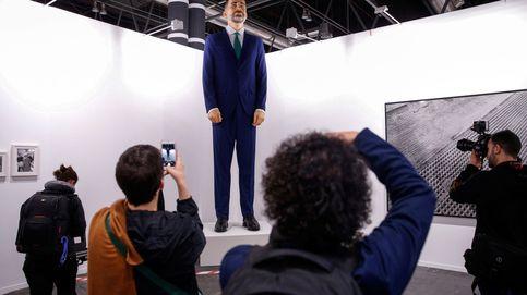 Santiago Sierra y Eugenio Merino: los padres del 'ninot' del Rey son expertos en polémicas