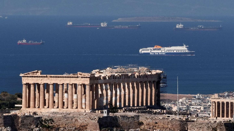 Vista de la Acrópolis en Atenas.(Reuters).