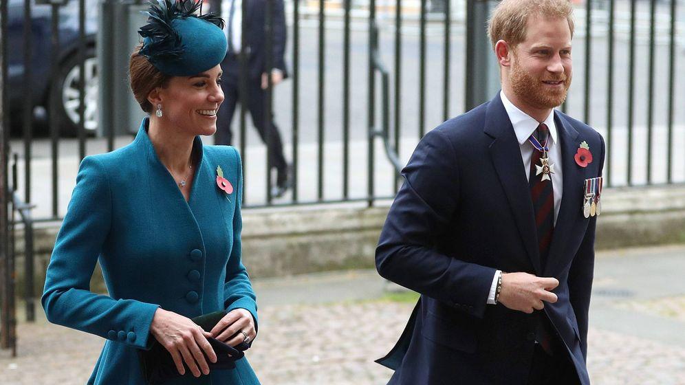 Foto: Harry y Kate llegando a la abadía de Westminster. (Cordon Press)