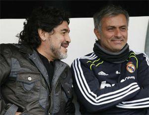 """Maradona: """"Cuando Mourinho llegó al Madrid, el club era un puterío"""""""