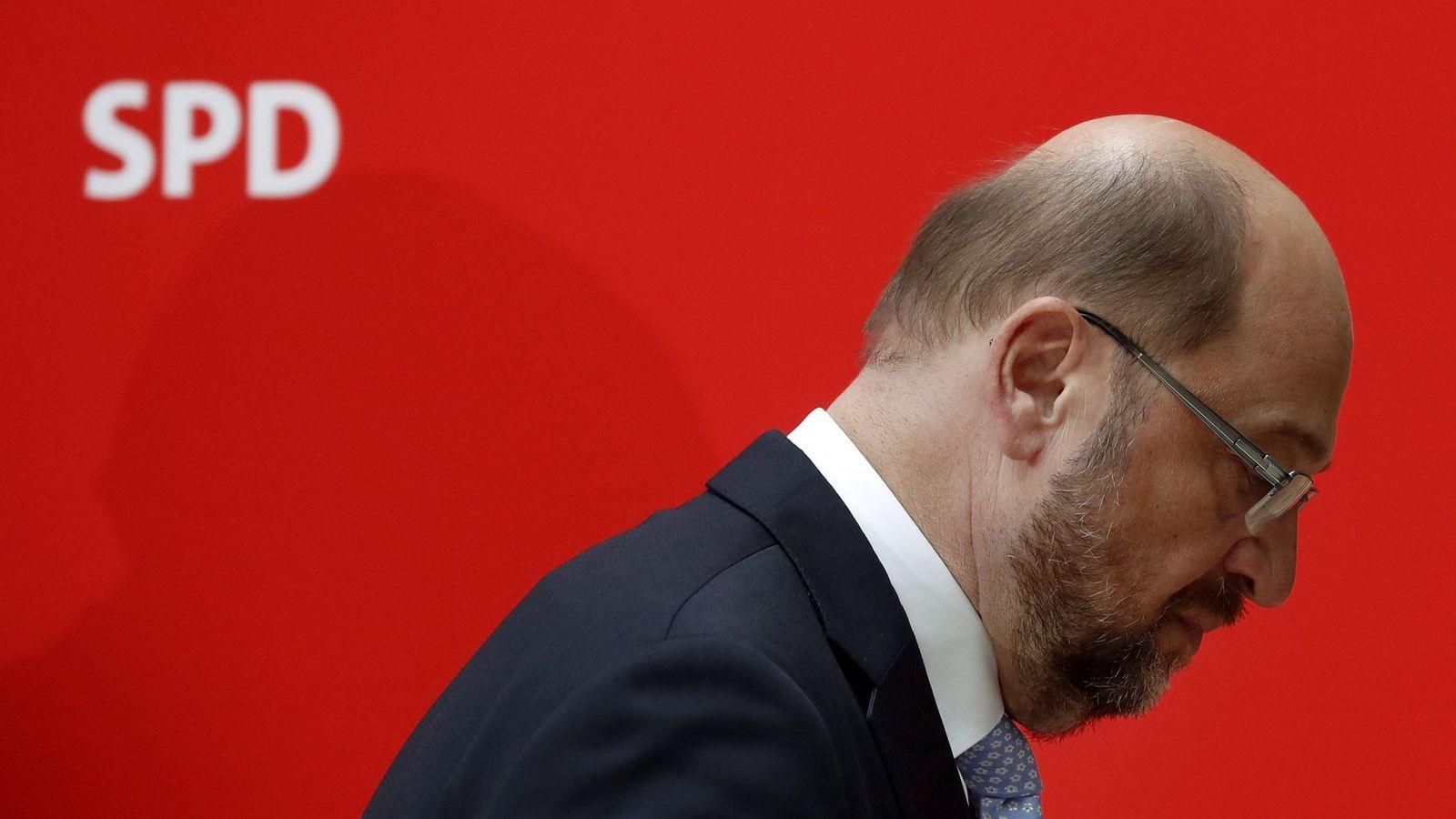 Foto:  El candidato socialdemócrata a la Cancillería, Martin Schulz. (EFE)