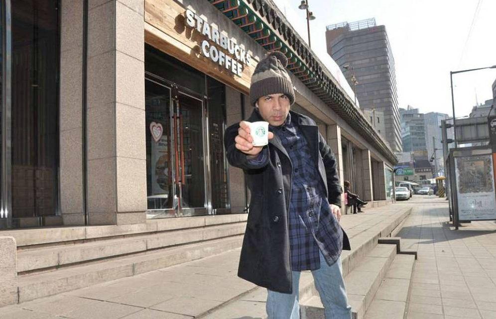 Foto: Winter, el informático que ha visitado 14.000 Starbucks en 20 años (starbuckseverywhere.com)