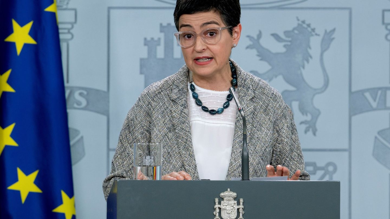 La ministra de Asuntos Exteriores, Arancha González Laya. (EFE)