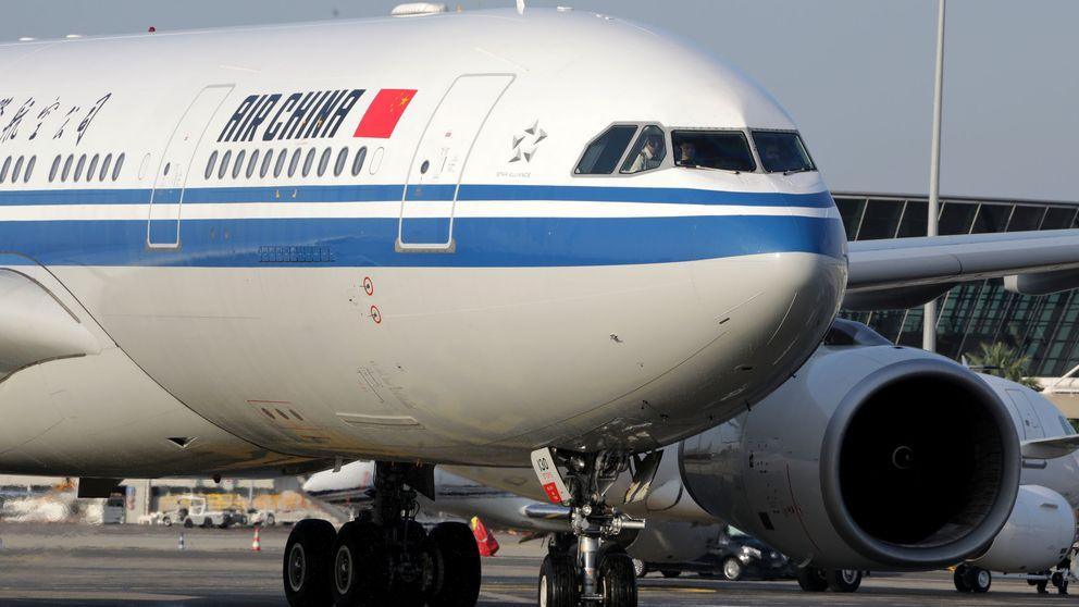 Boeing 747 de Atlas Air, Airbus 330 de Air China: los colosos que traen el material