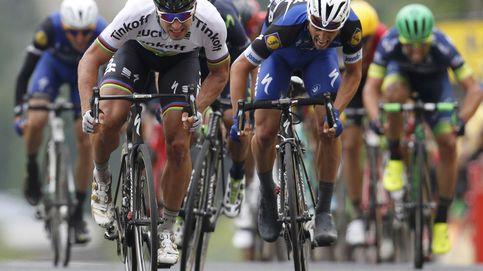 Segunda etapa y segunda caída de Contador, que ya está a un minuto del amarillo