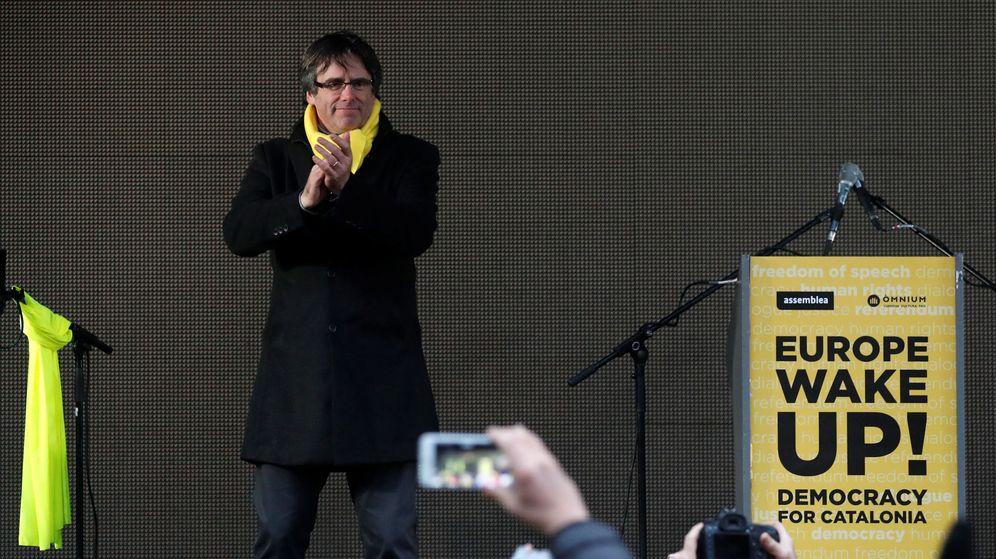 Foto: Puigdemont en Bruselas. (Reuters)