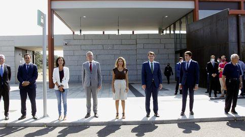 La última desgracia de Ábalos: el AVE llega a la España vacía (sin rotonda y sin él)