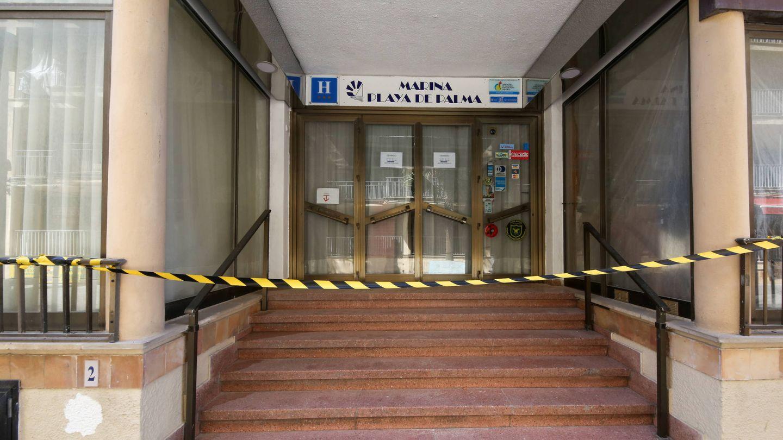 Uno de los innumerables hoteles cerrados en Mallorca. (D. B.)