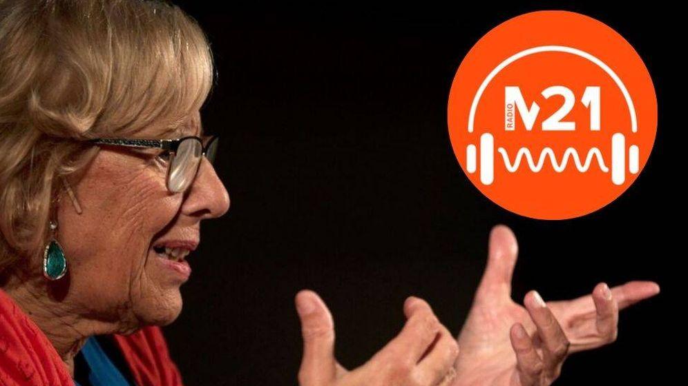 Foto: La radio M21 que creó Manuela Carmena finalizará sus emisiones el 30 de septiembre