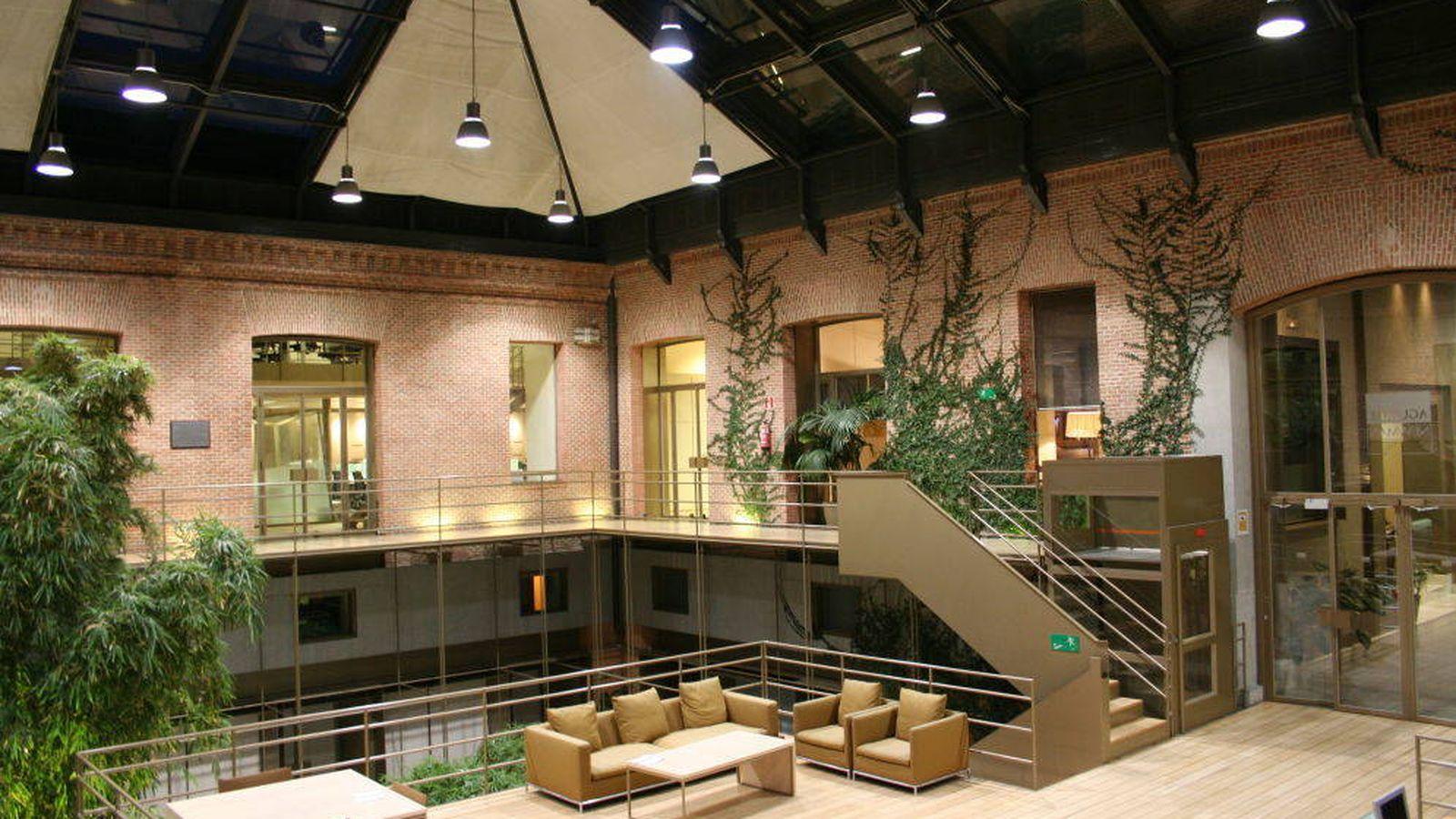 Foto: Interior de la sede de Aguirre Newman en Madrid.