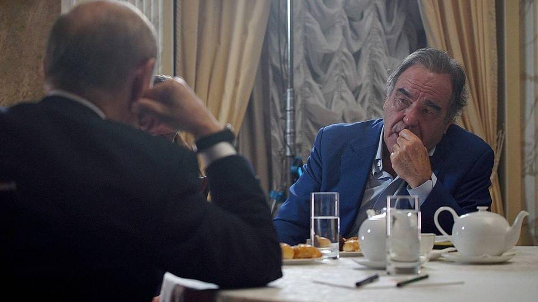 Putin, durante la entrevista con Stone. (Kremlin)