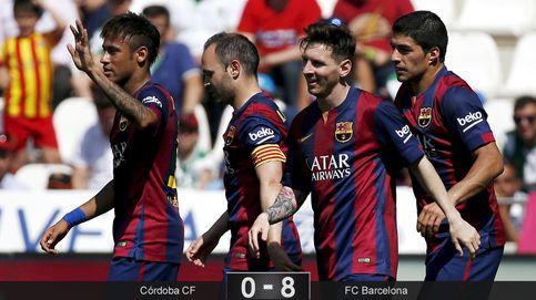 El Messi más generoso brilla en El Arcángel y condena al Córdoba a 2ª