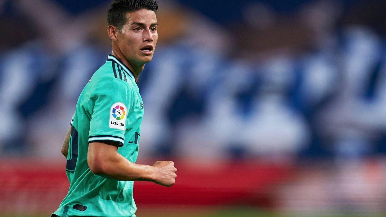 James sigue en venta en el Real Madrid, pero Zidane no se ha olvidado de él