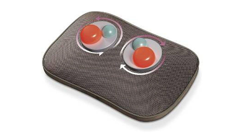 Almohada de masaje Beurer con 4 cabezales rotatorios