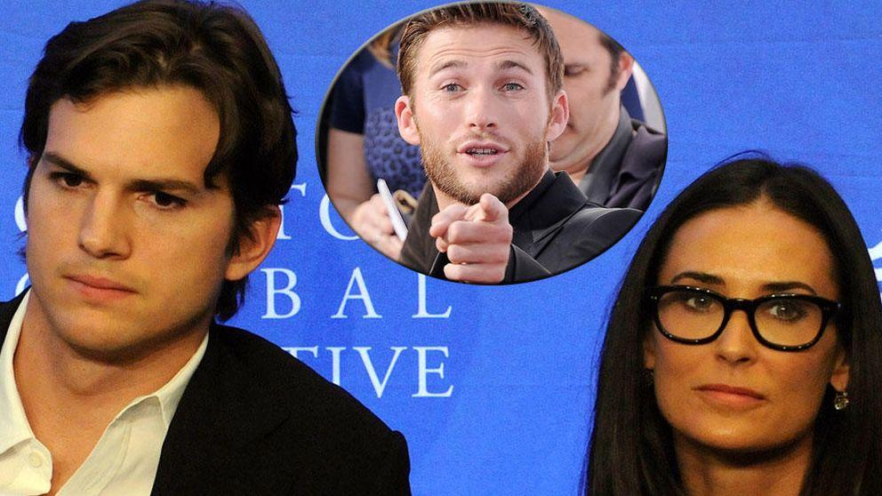 Scott Eastwood,  involucrado en el divorcio de Ashton y Demi Moore