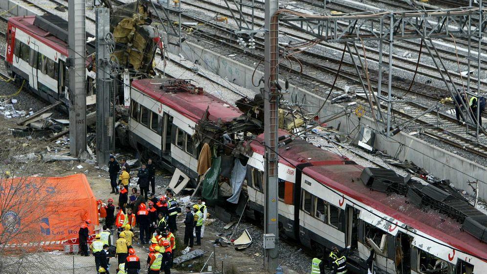 Foto: Uno de los trenes del 11-M. (Reuters)
