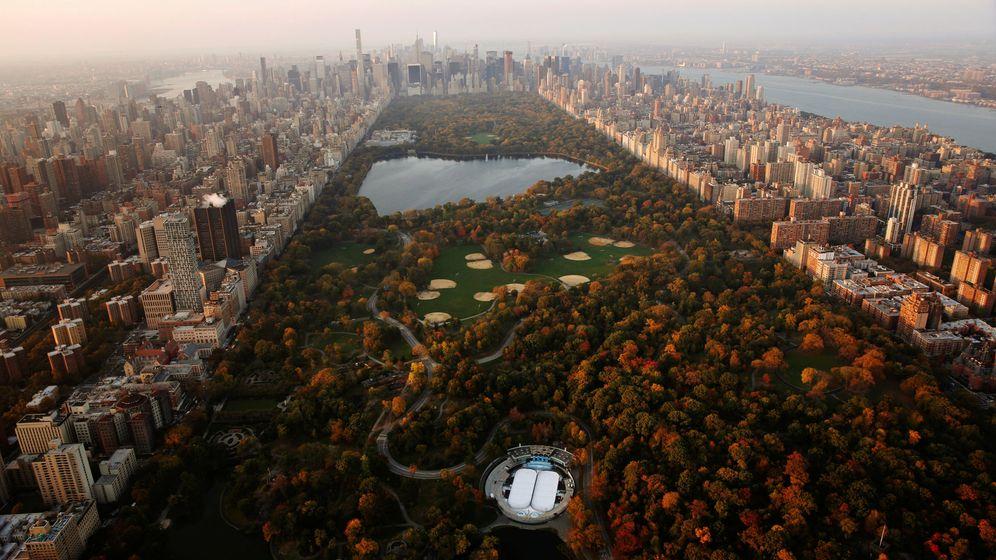 Foto: En la imagen, Central Park y el lago dedicado a Jacqueline Kennedy, donde se ha encontrado uno de los cuerpos. (Reuters)