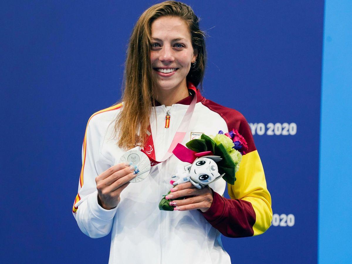 Foto: La nadadora española Núria Marquès. (EFE)
