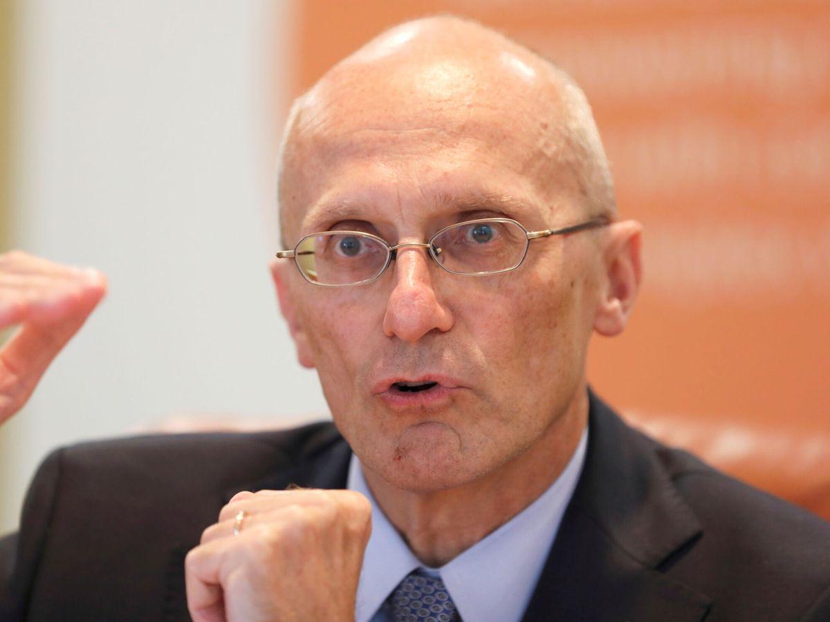 Foto: Andrea Enria, presidente del Mecanismo Único de Supervisión (MUS) del BCE. (Reuters)