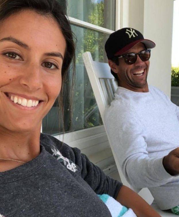 Foto: Anba Boyer y Fernando Verdasco en las Bahamas.(Instagram)
