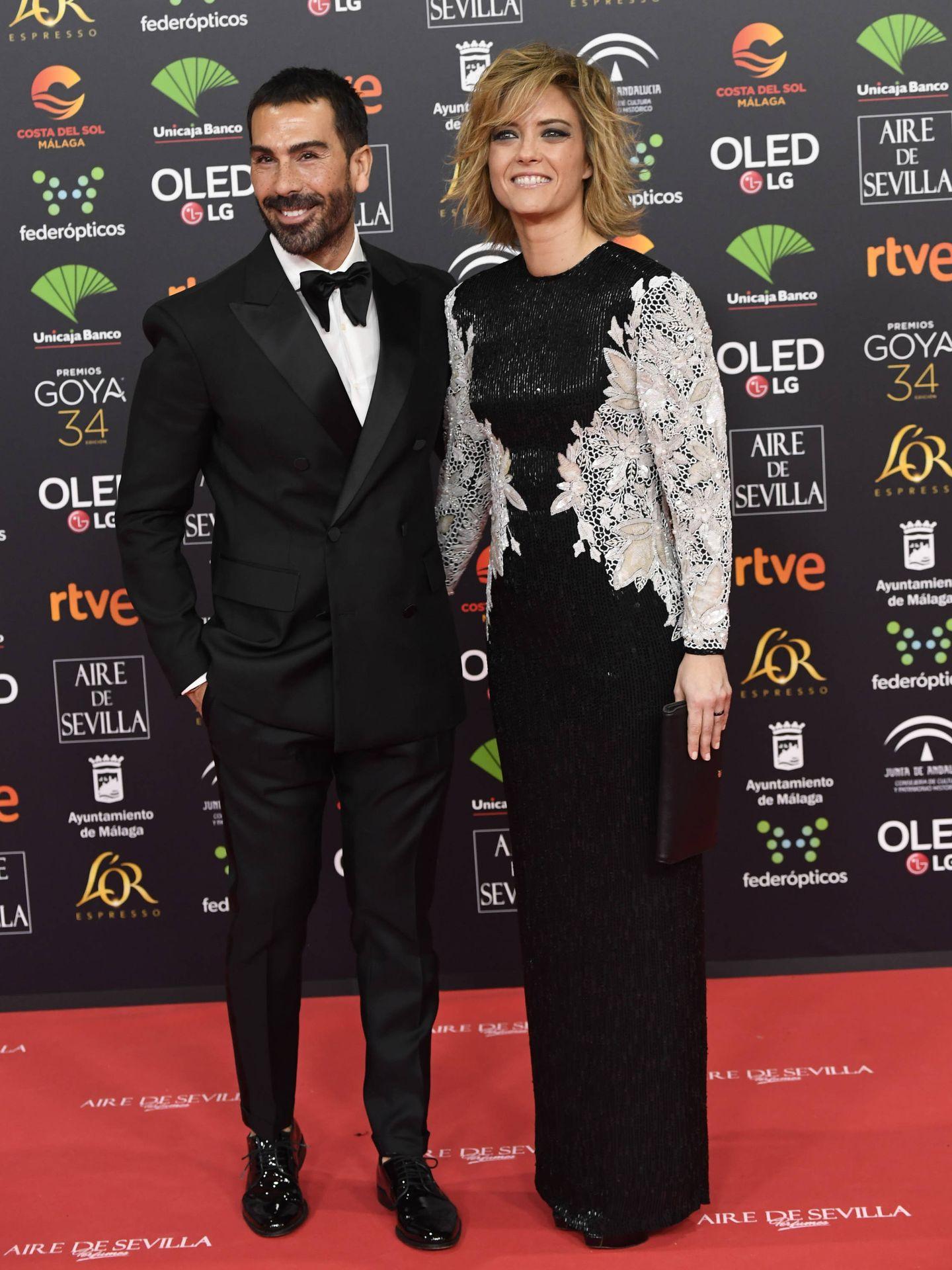 María Casado con su vestido de Sara Montiel. (Limited Pictures)