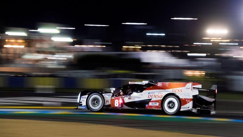 La lluvia hace un favor al Toyota de Alonso que saldrá desde la pole en Le Mans